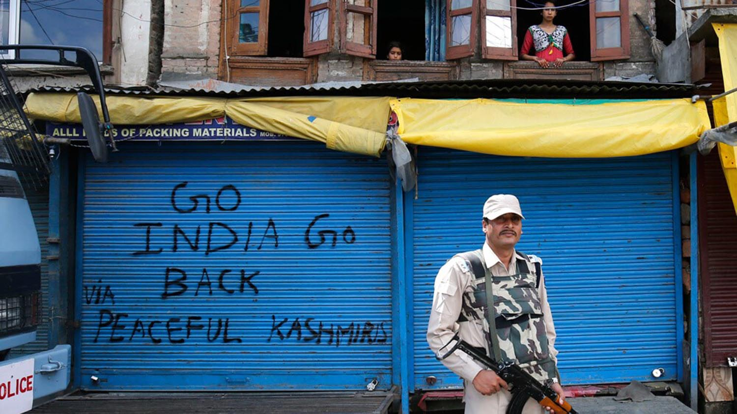 India's lockdown has expanded the scale of police and military operations against Kashmiri civilians.